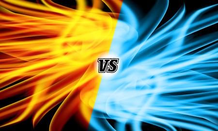 Versus Vector. VS Letters. Competition Concept. Fight Symbol Illustration
