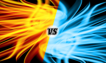 Versus Vector. VS Letters. Competition Concept. Fight Symbol Vettoriali