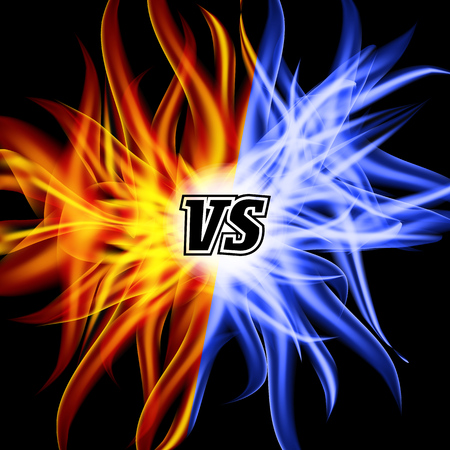 flame letters: Versus Vector. VS Letters. Flame Fight Background Design. Competition Concept. Fight Symbol