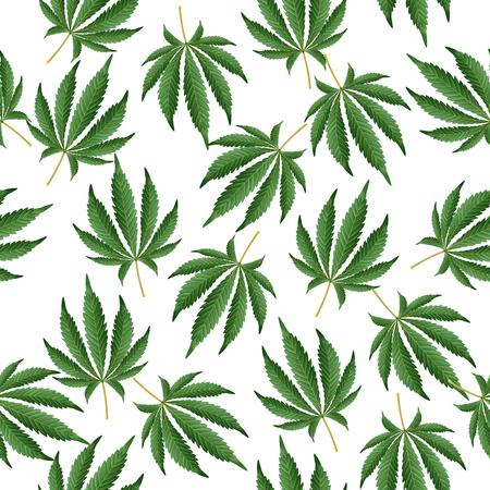 Cannabis Background. Marijuana Hemp Texture. Green Leaf Hashish