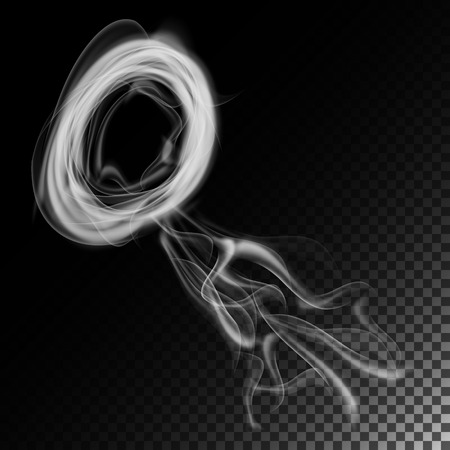 Realistic Cigarette Smoke Waves