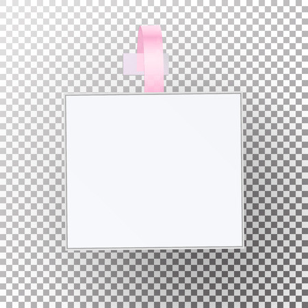Plastic Advertising Wobbler Vector Papper Price Tag Template. Illustration