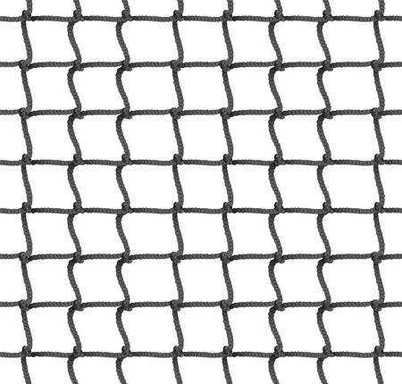 Tennis net sans soudure de fond. Illustration vectorielle Corde Net Silhouette. Football, Football, Volleyball, Tennis Net Pattern.
