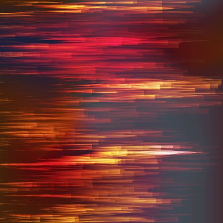 Glitch Background Vector. Chaos Aesthetics Of Signal Error. Dark Glitch.