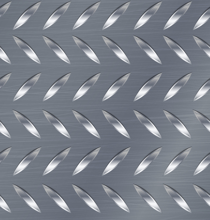 diamond plate: Corrugated Seamless Background. Good For Web Design. Realistic Corrugated Steel Plate Illustration.