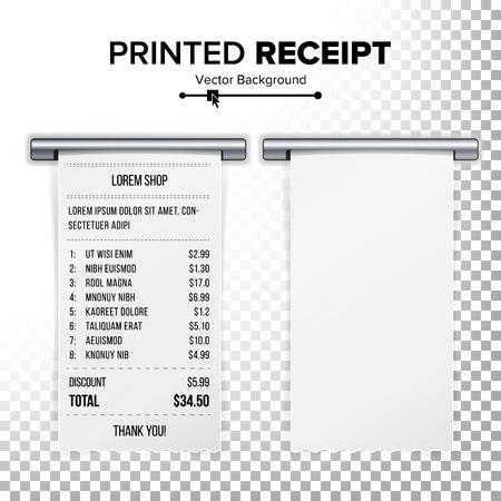 Blank Shopping Cash Receipt Template Financial Cash Receipt