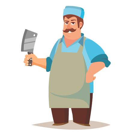 peasant: Professional butcher icon.