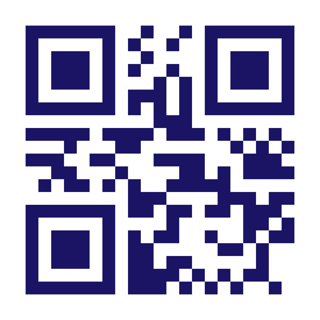 New Technology Barcode QR Code Vector. Classic QR Code Vector. Black And White Monochrome Illustration