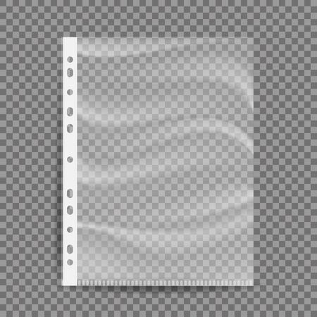 セロハン ビジネス ファイル。  イラスト・ベクター素材