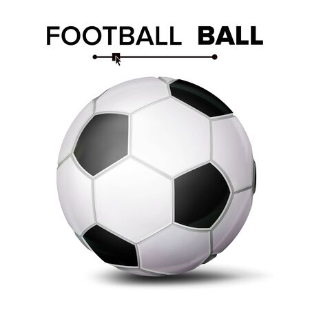 サッカー ボールの分離アイコン。  イラスト・ベクター素材