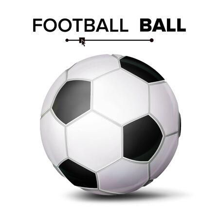 Football ball isolated icon.