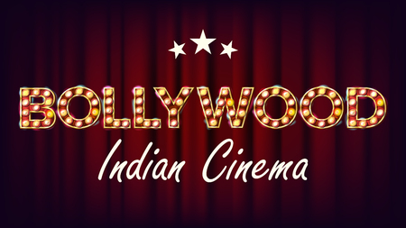 Bollywood Indian cinema banner.
