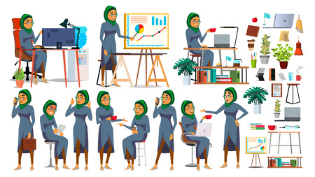 Boss CEO Character Vector set doing different activity vector illustration