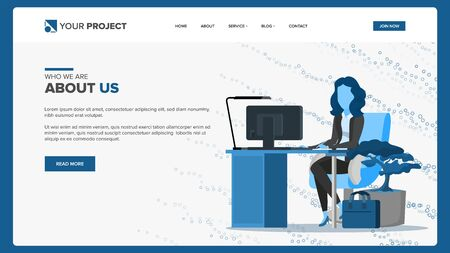 Web Page Vector. Business Background. Web Design And Development. Cartoon Team. Cash Contract. Illustration