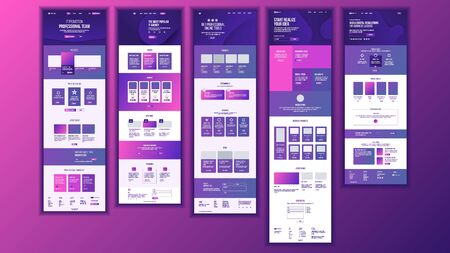 Main Web Page Design . Website Business Reality. Landing Template. Creative Project. Information Tools. Financial Mining. Partner Option. Illustration