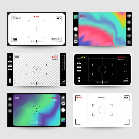 Camera Viewfinder . Display. Exposure And Composition Focus, Electronic Zoom, Photography Optical, Finder And Screen