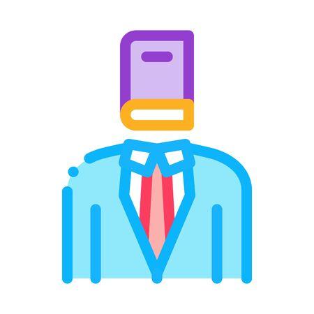 legal representative icon vector. legal representative sign. color symbol illustration Иллюстрация