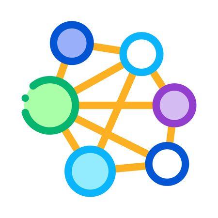 mesh confusion icon vector. mesh confusion sign. color symbol illustration Vektorové ilustrace