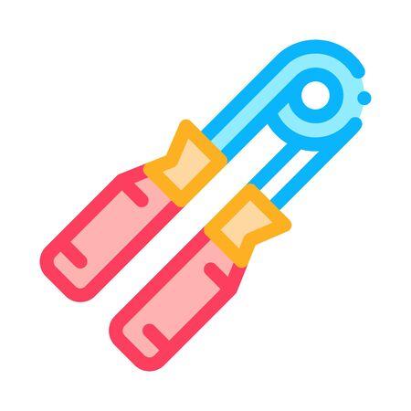 expander heavy grip icon vector. expander heavy grip sign. color symbol illustration