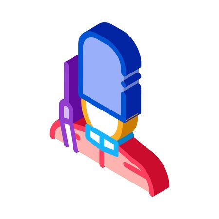 royal guard icon vector. isometric royal guard sign. color isolated symbol illustration