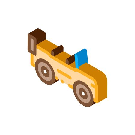 Automobile Icon Vector. Isometric Automobile sign. color isolated symbol illustration 写真素材 - 148875249