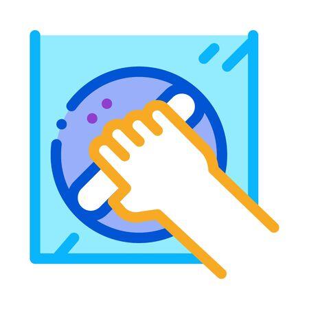 window control handle icon vector. window control handle sign. color symbol illustration