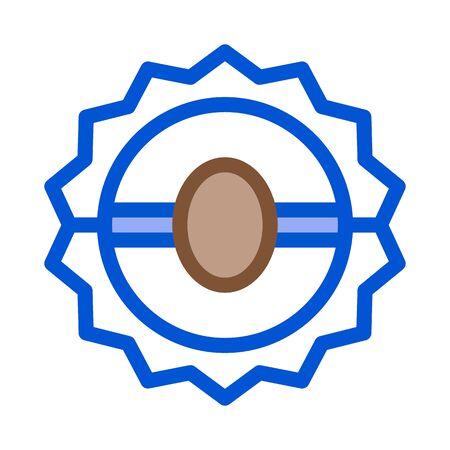animal trap icon vector. animal trap sign. color symbol illustration Stock Illustratie
