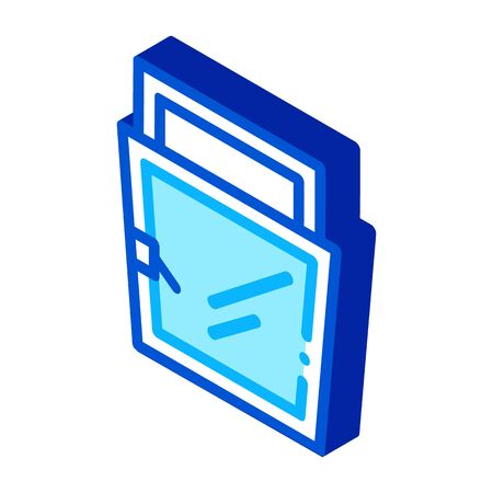 open for ventilation window icon vector outline illustration
