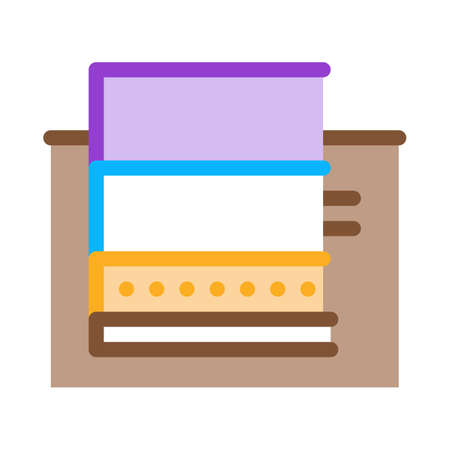 floating foundation icon vector. floating foundation sign. color symbol illustration Vecteurs