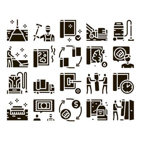 Vakuum-LKW-Skizze Stock-Vektorgrafik (Lizenzfrei) 636690838