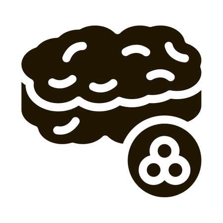 Caviar Nutrition glyph icon vector. Caviar Nutrition Sign. isolated symbol illustration