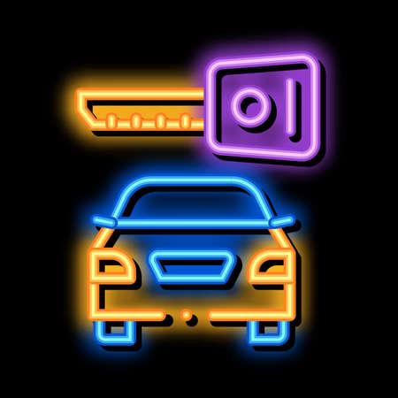 Machine Wash from Hoses neon light sign vector. Glowing bright icon Machine Wash from Hoses sign. transparent symbol illustration