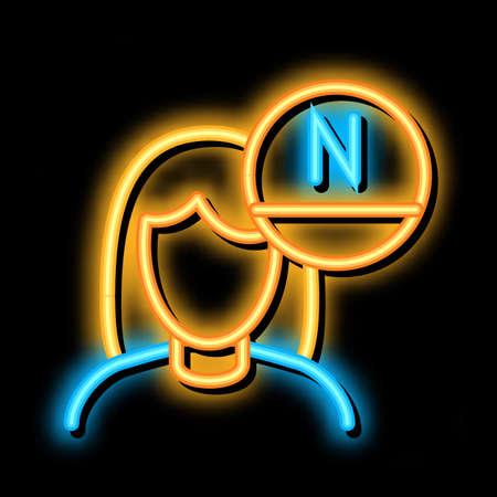 Woman Rejuvenate Vitamin neon light sign vector. Glowing bright icon Woman Rejuvenate Vitamin sign. transparent symbol illustration
