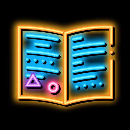 exchange card, documents neon light sign vector. Glowing bright icon exchange card, documents sign. transparent symbol illustration