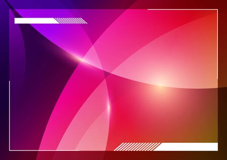 Vector abstract background design template. Stock Vector - 18911091