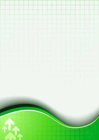 abstract green background. Vector design template. Illustration