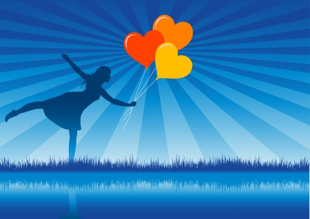 give thanks: love baloons...