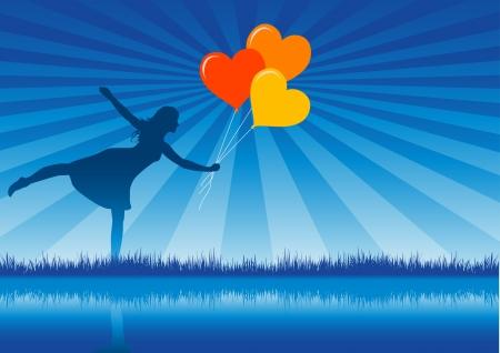 love baloons... Stock Vector - 18910817