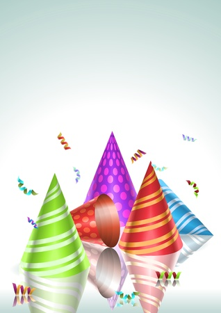 Colorful party and celebration elements  Vector