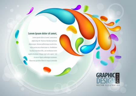 Abstract presentation template  Stock Vector - 18924489