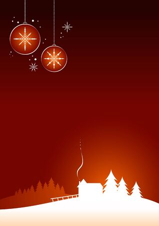 Minimal christmas design Stock Vector - 18921880