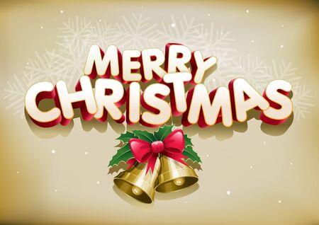 Merry Christmas. Stock Vector - 18924480