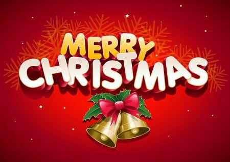 Merry Christmas. Stock Vector - 18923957