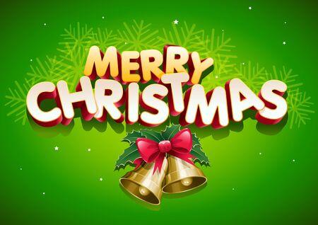 Merry Christmas. Stock Vector - 18923956