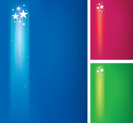 seperated: bright stars background set  seperated layers incluted in vector file