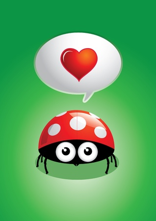 Ladybug vector illustration  Vector