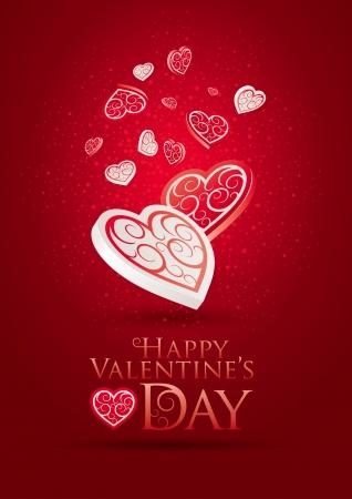 flirting: Valentine Illustration