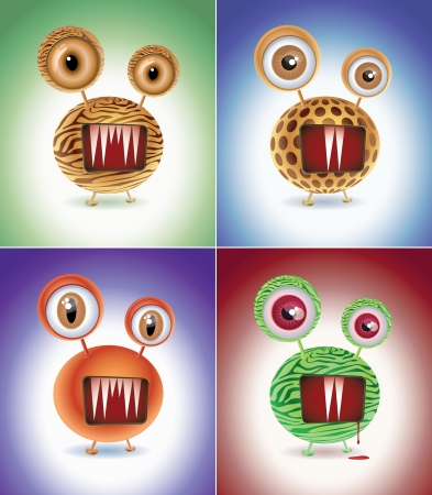 Wild things  Vector character design  Elements are layered separately in vector file  CMYK color mode  Vector
