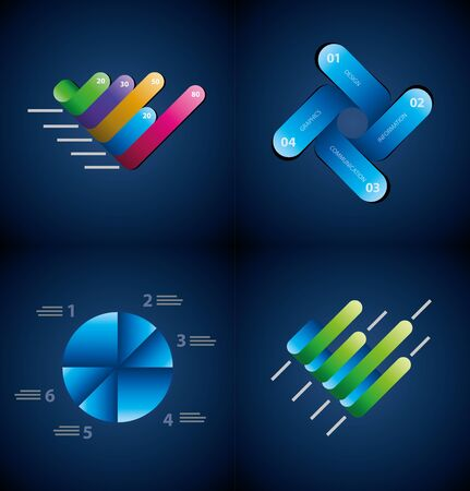 Vector infographics elements collection  Vector