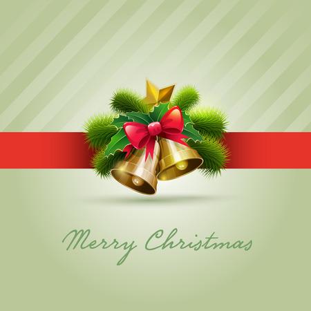 Vector illustration of Christmas Card   Stock Vector - 22440820
